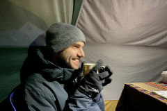 17.-Zach-having-a-hot-tea...it-gets-cold-at-night