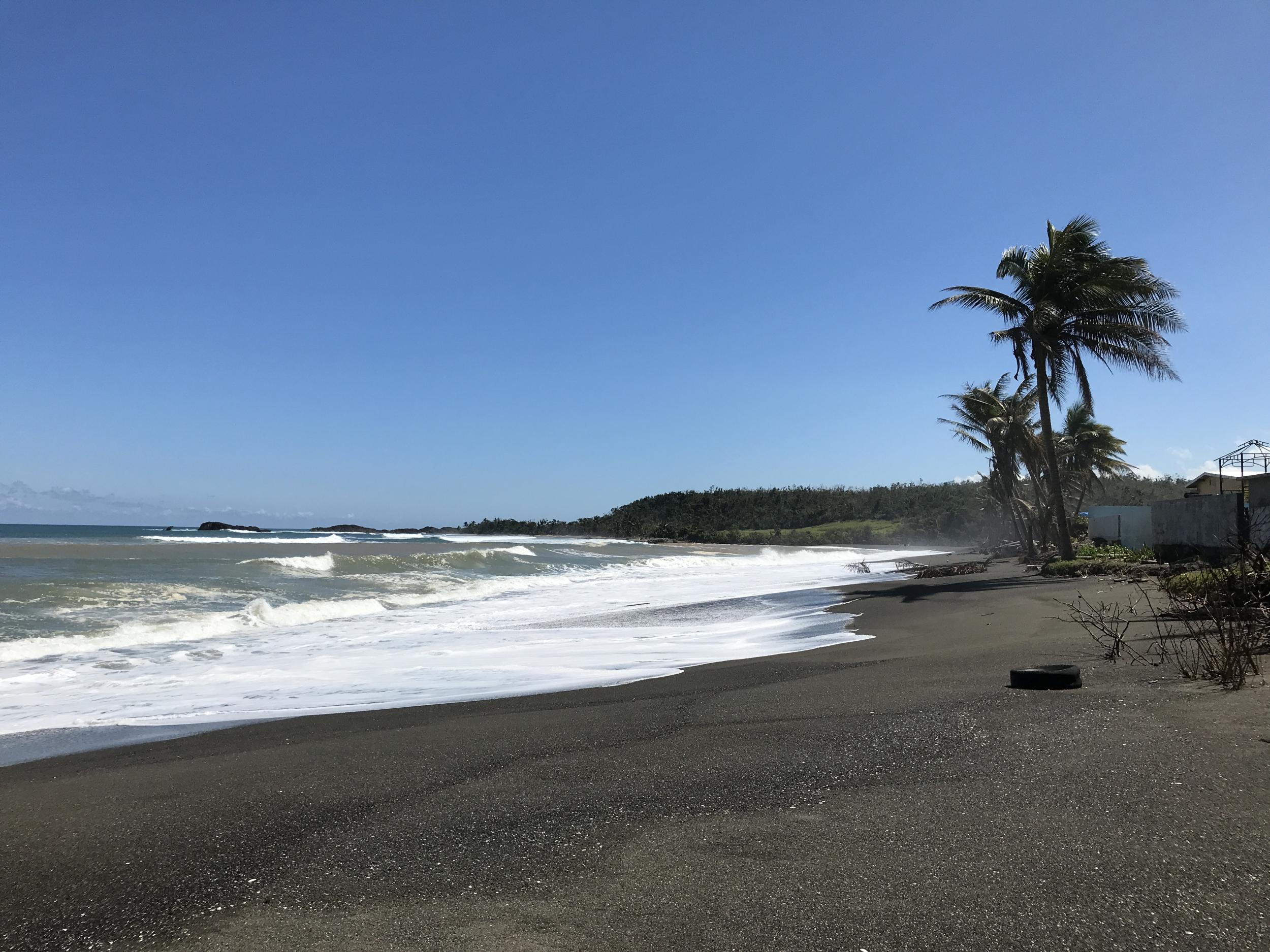 23. Black Sand Beaches
