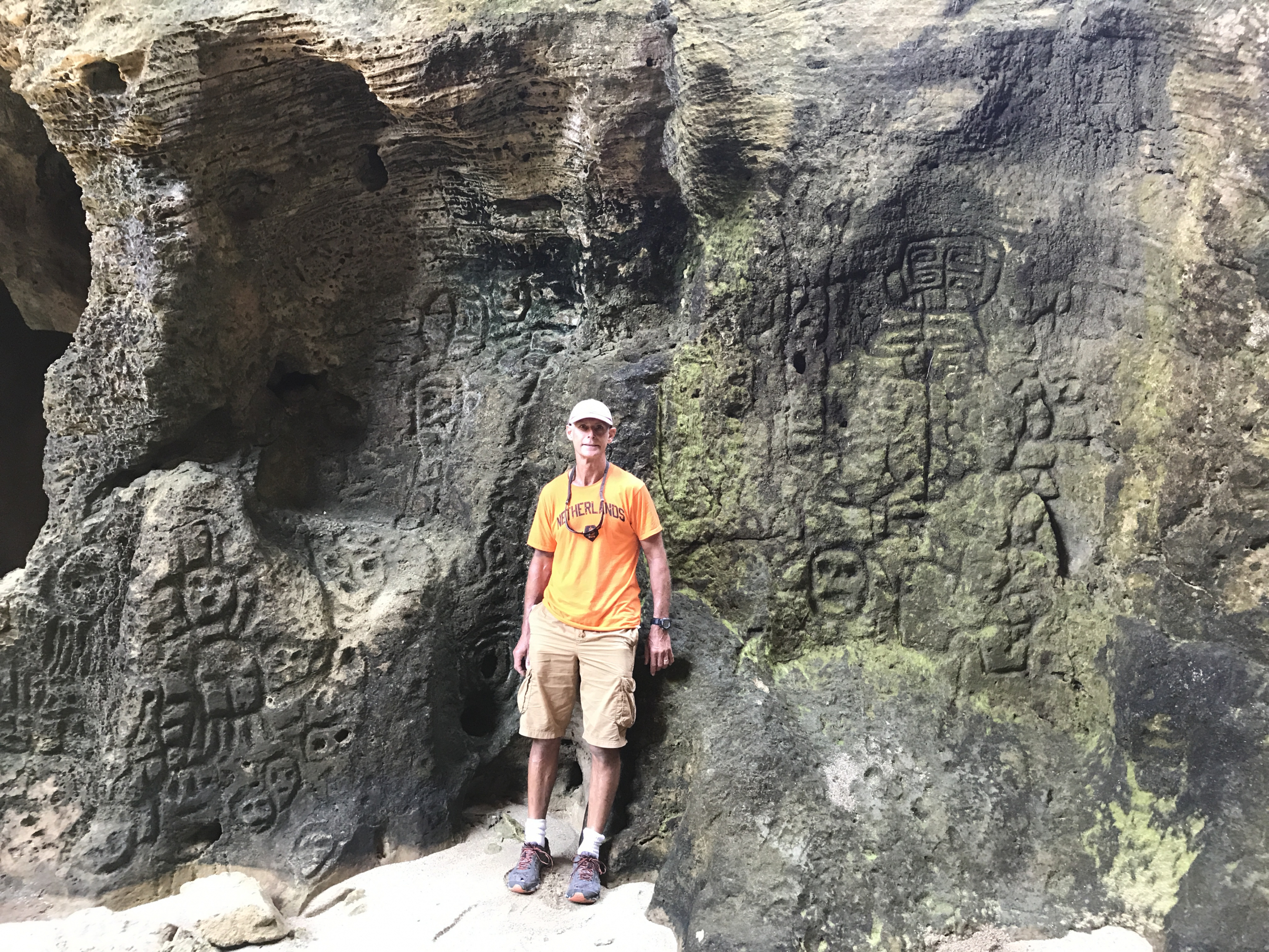 27. Petroglyphs in Indio Caves