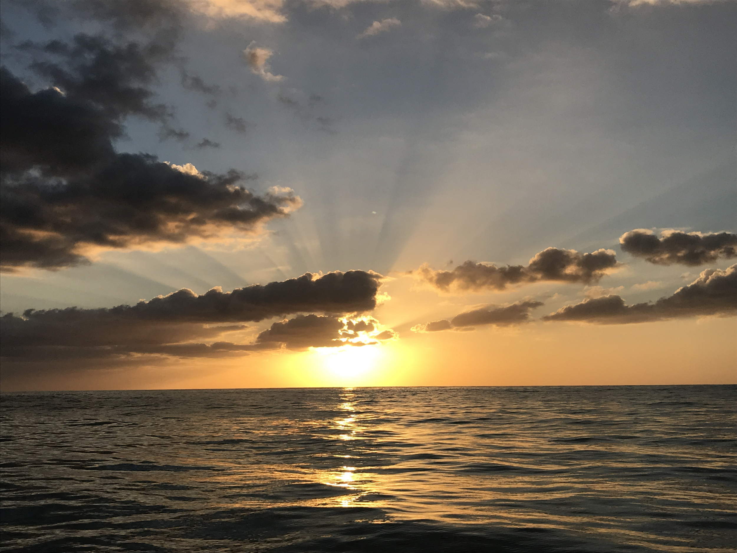 43. Sunset off of Cabo Rojo