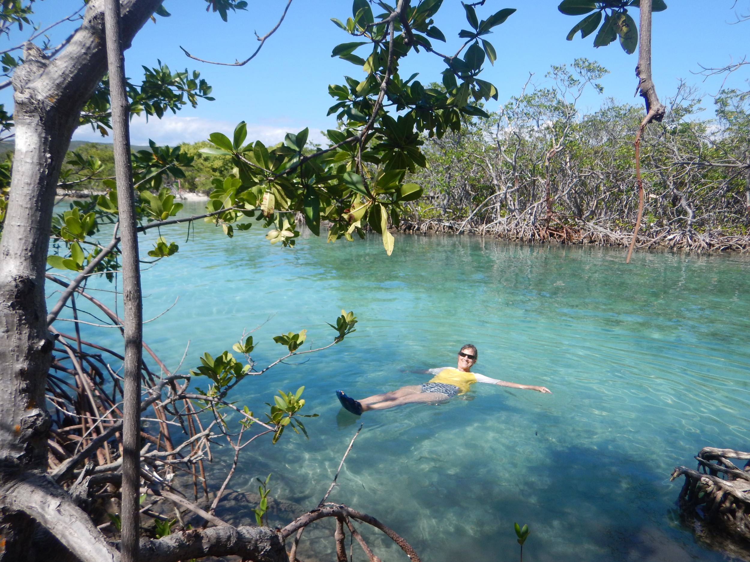 44. Swimming near Gilligans Island
