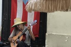 14. Street entertainer