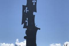 24. Statue commemorating Columbus