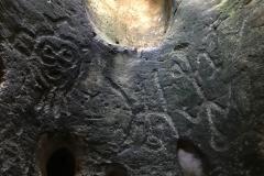 28. More petroglyphs...looks like an alien