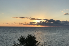 37. Sunset from the Roigs beach house