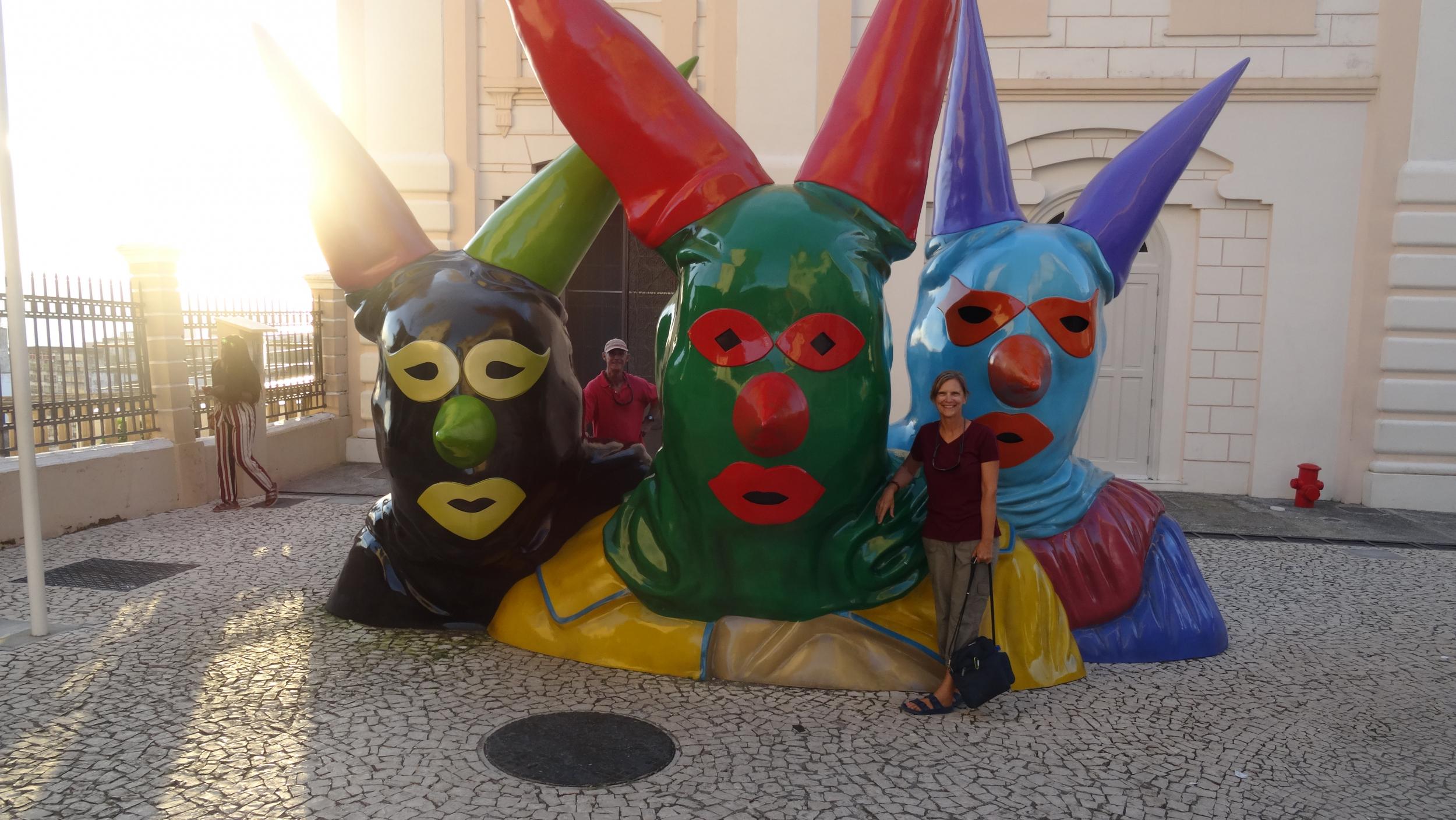 16. The jokers in Salvador