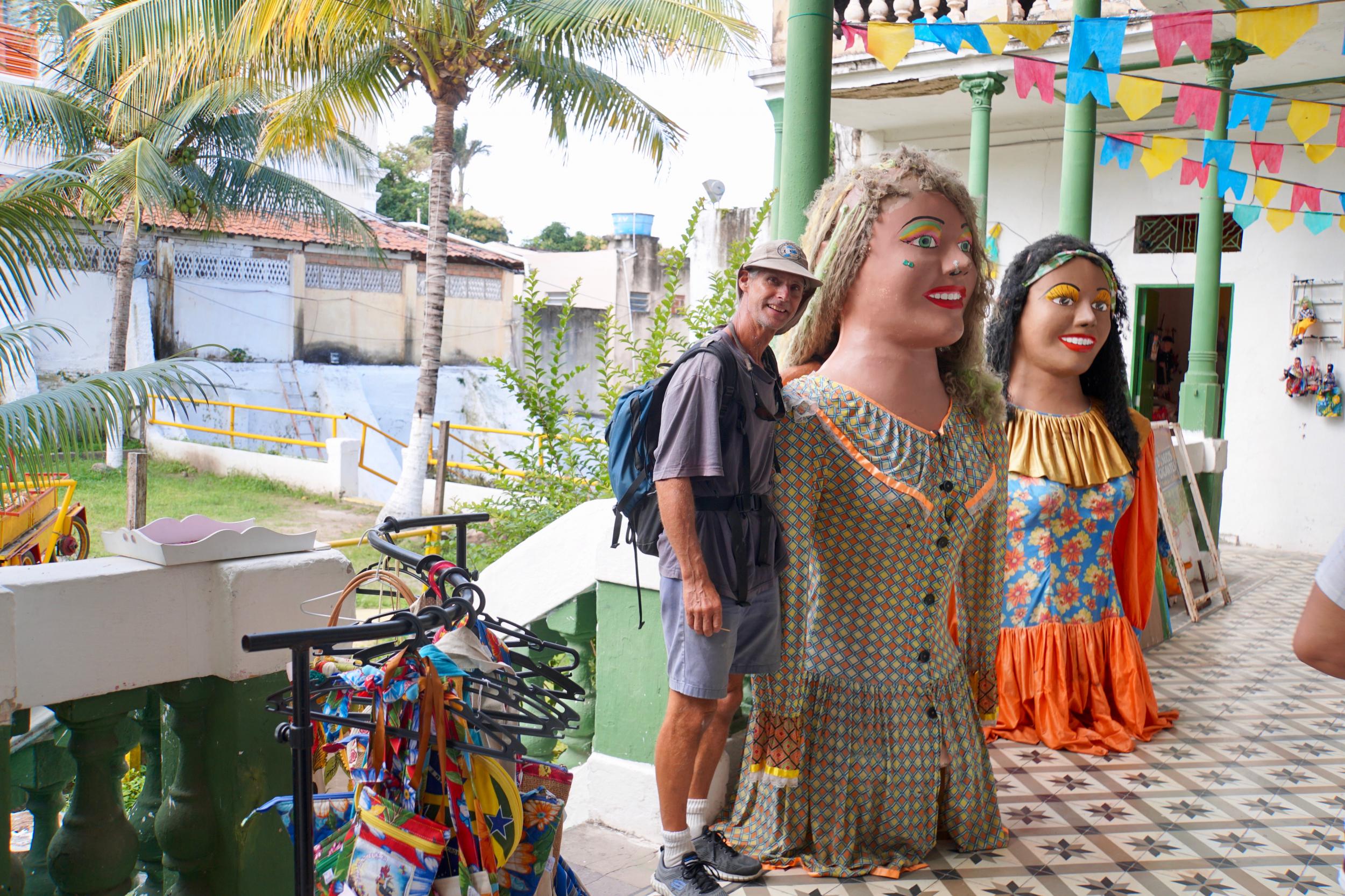 4. Figurines from Carnival in Olinda