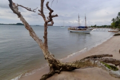 42. Anchored off Campinho village