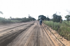 50. Main road our of Barra Grande, hiking to windward beaches