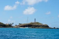 53. Anchored at Arquipelago dos Albrolhos