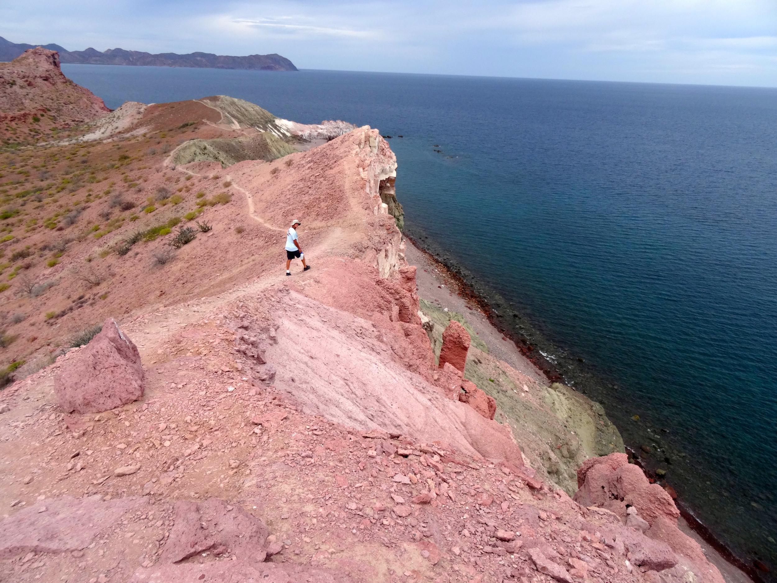 16. We hiked along the ridge at Isla SF