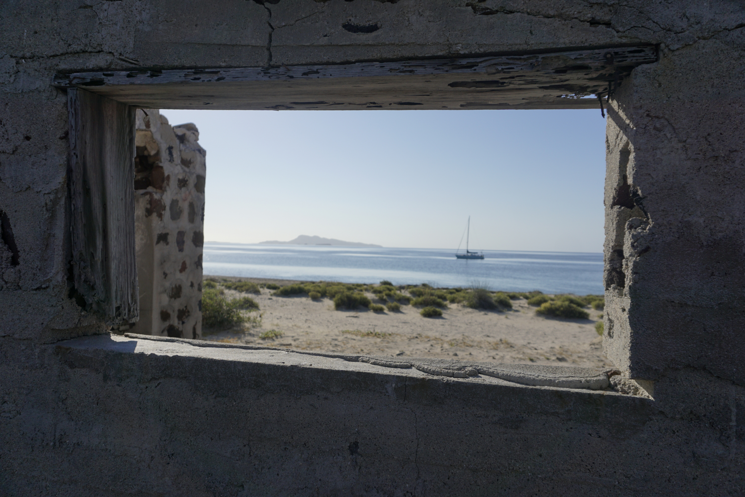 24. Abandoned salt mines at Punta Salinas