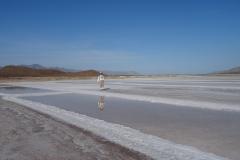 26. Salt fields at Punta Salinas