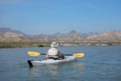 31. Kayaking the lagoon at Timbabiche