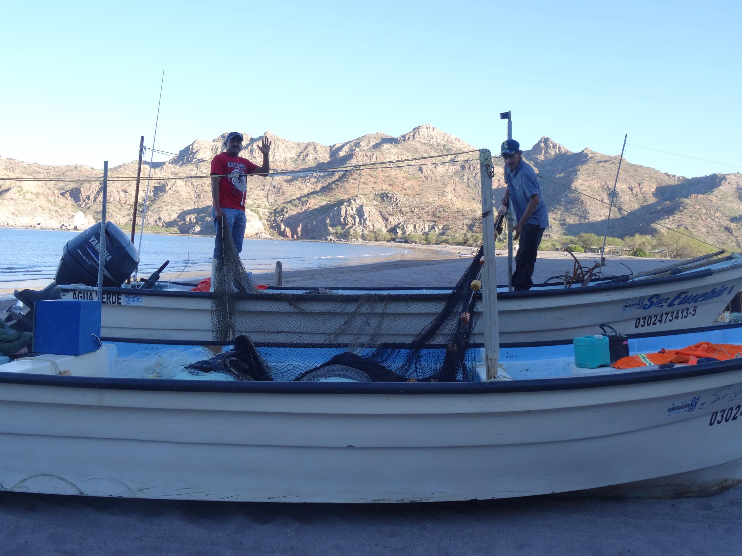 2. Fisherman at Bahia Aqua Verde