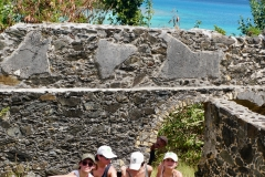 15. Annaberg school ruins..photobomb by Willy