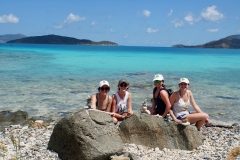 17. The girls at Watermelon Bay
