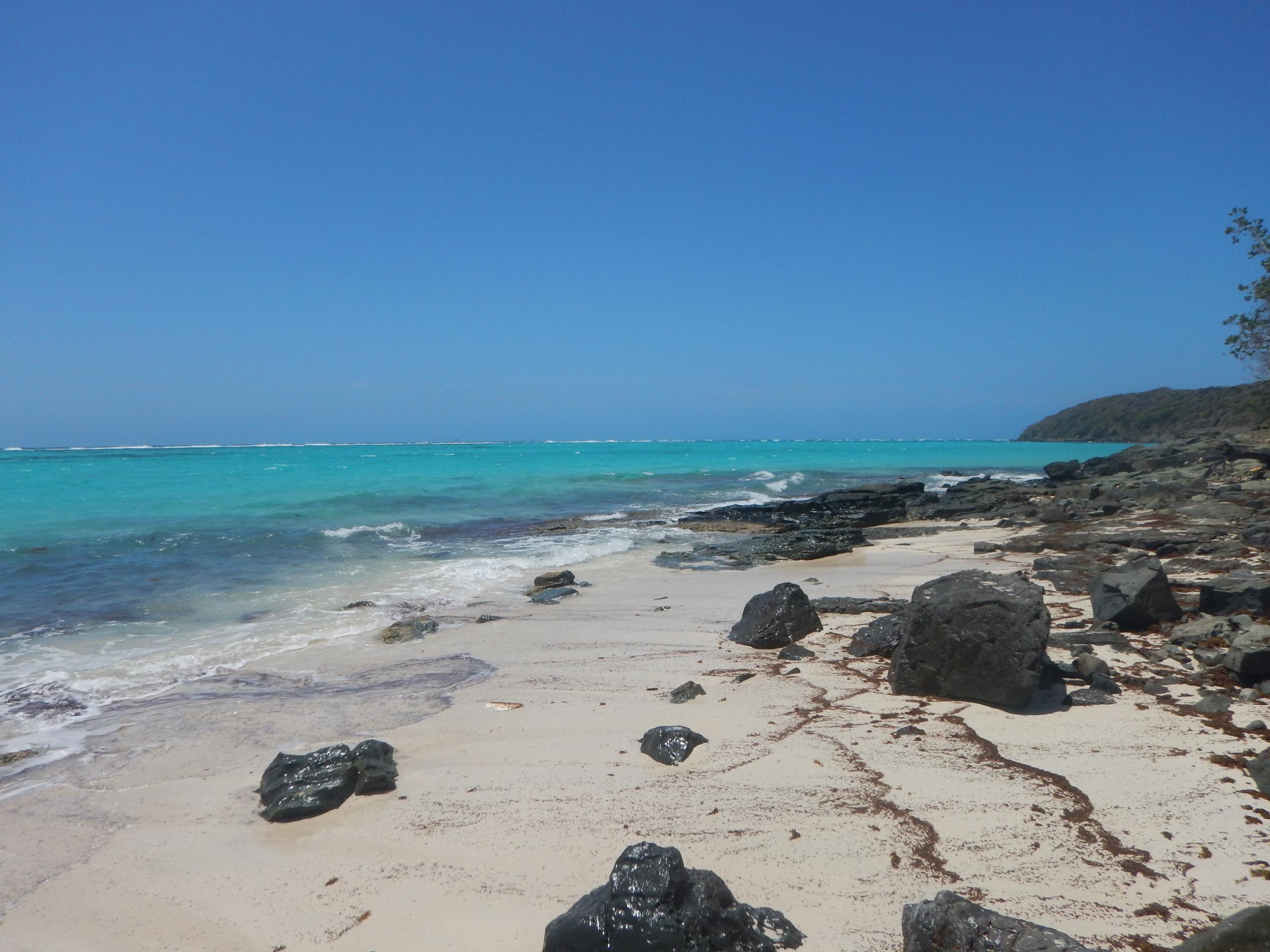 12. Beautiful beach on Canouan