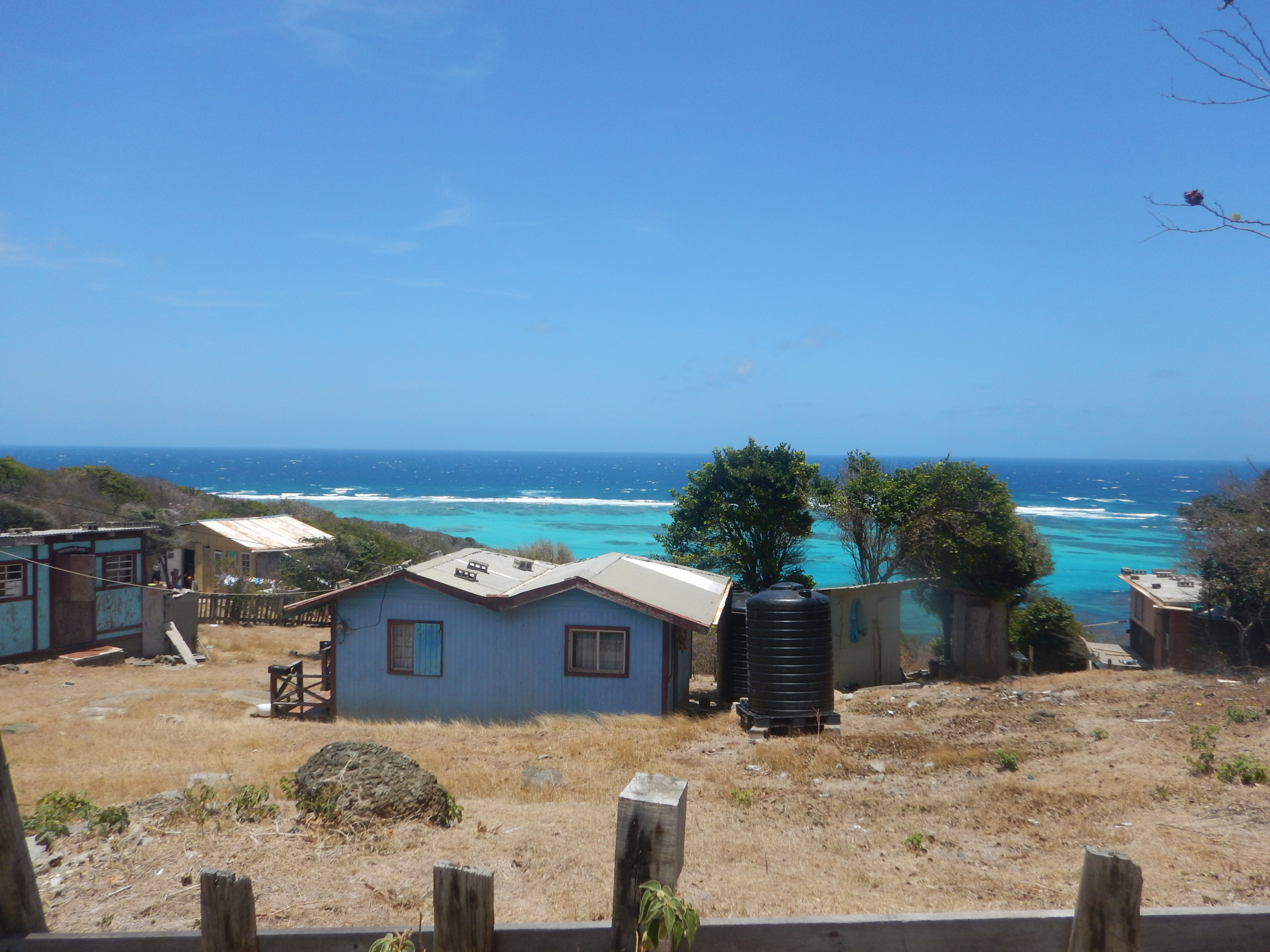 16. Even the small homes have views in Canouan