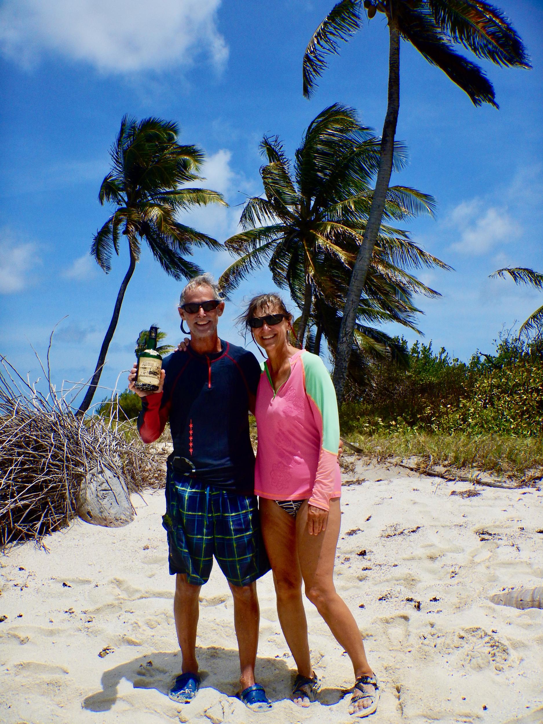 25. Found the rum!