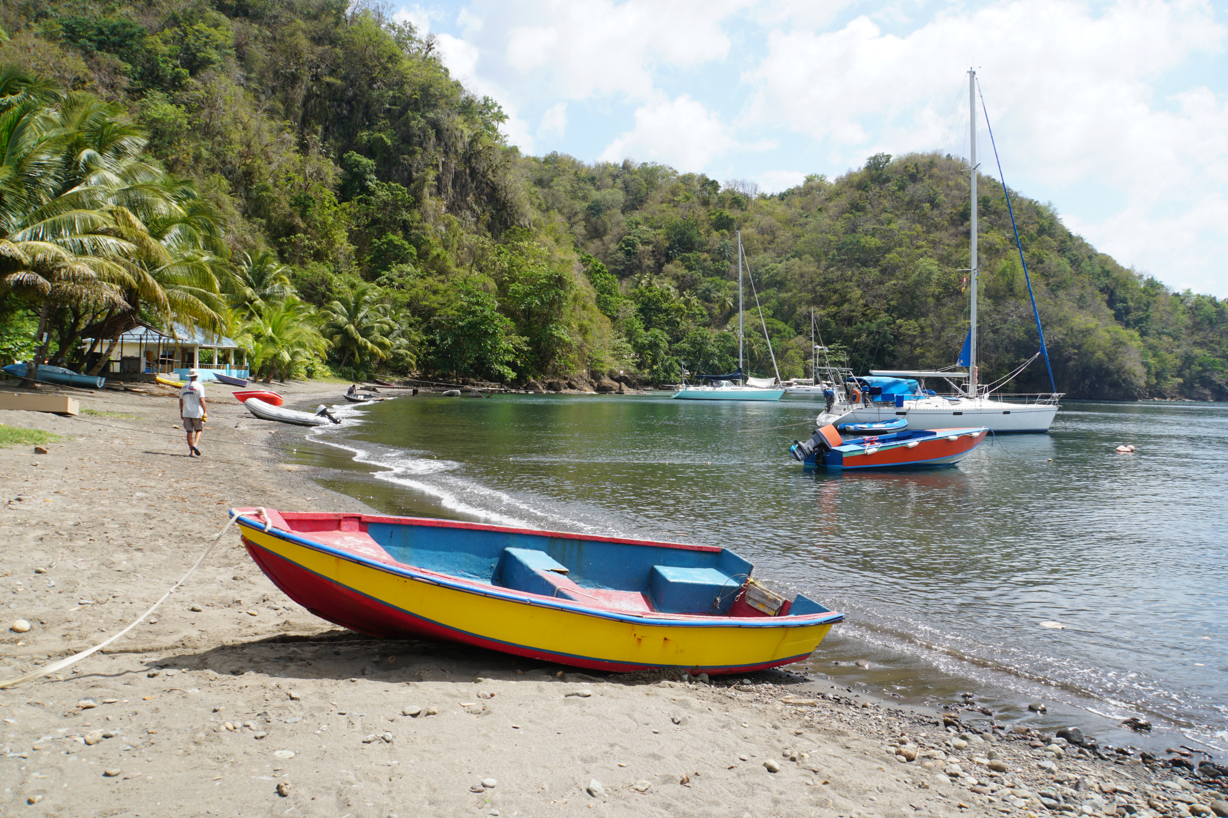 41. Boats in Cumberland Bay