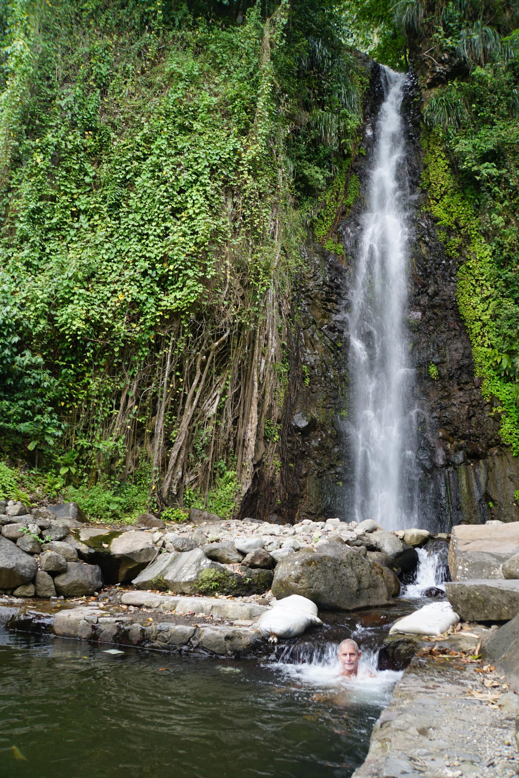 47. waterfall near Chateaubelair Bay