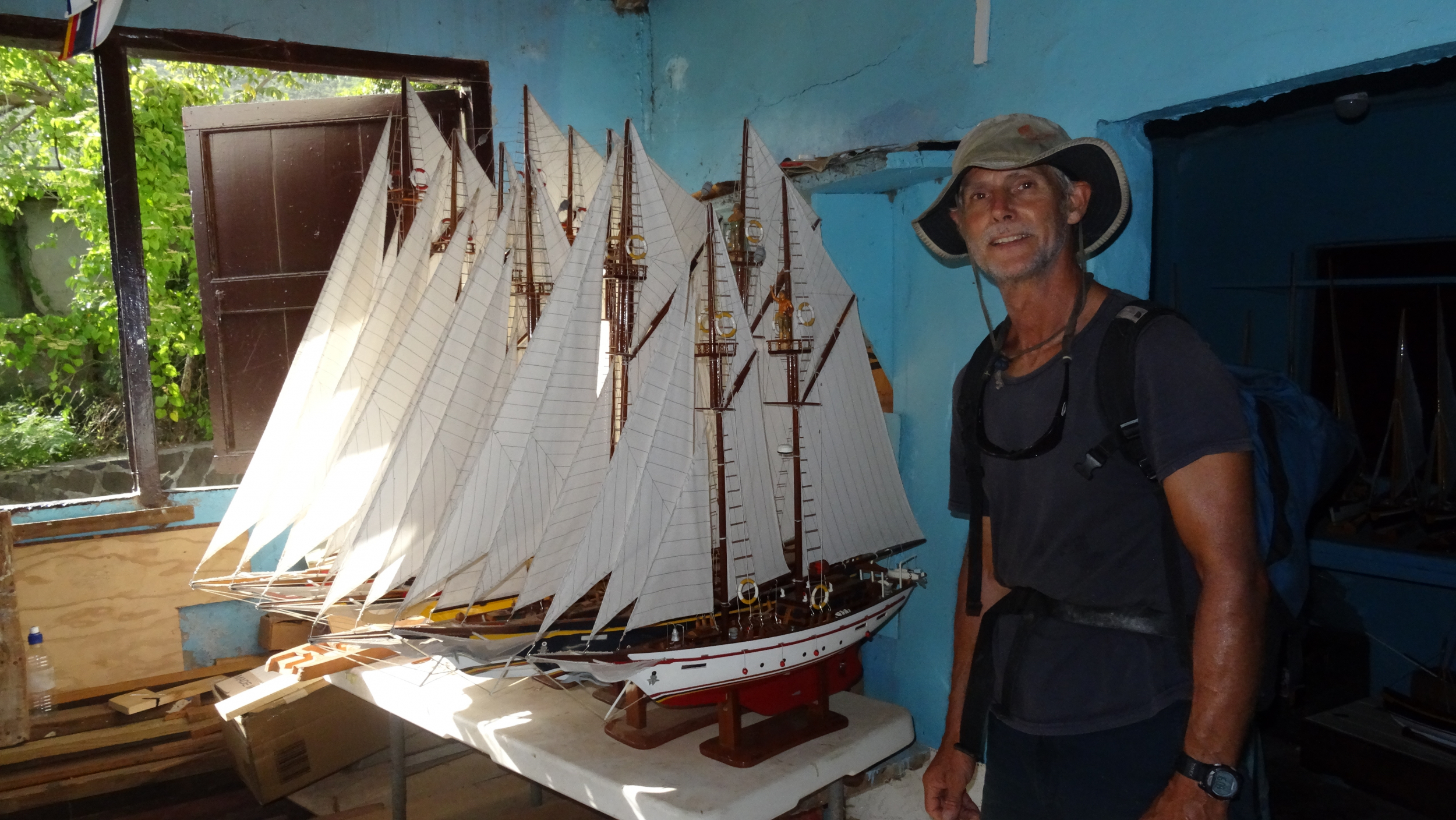 5. Bequia is known for its model boats