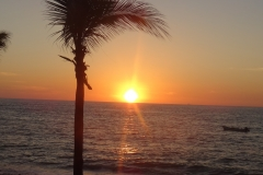 10. Sunset in Puerto Vallarta