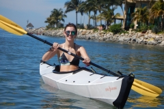 4. Kyra in the kayak