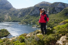 2. Hiking in Puerto Hoppner, Willy and Cindy