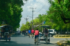 4. Leon, Nicaragua. Sharing the streets