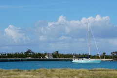 10. Anchored in abandoned marina, West Caicos